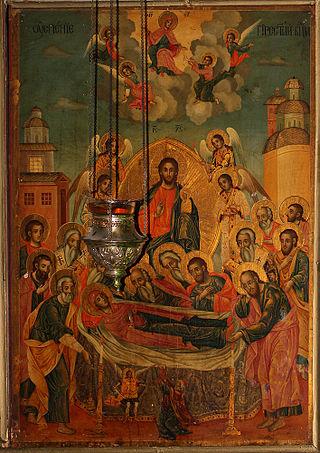 Успение на Пресвета Богородица 320px-Dormition-of-the-Theotokos_Icon