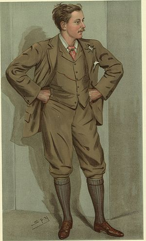 John Douglas-Scott-Montagu, 2nd Baron Montagu of Beaulieu - J. W. E. Douglas-Scott-Montagu from Vanity Fair