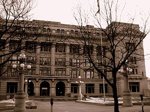 Douglas County Courthouse in Omaha