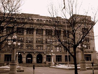 Douglas County, Nebraska - Image: Douglas County Nebraska Courthouse