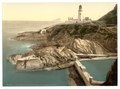 Douglas Lighthouse and bathing cove, Isle of Man-LCCN2002697030.tif