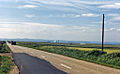 Dounreay westward along North Coast on A836 approaching Dounreay Nuclear Power Development Establishment geograph-2126421-by-Ben-Brooksbank.jpg