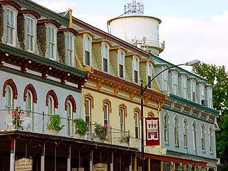 Lebanon, Illinois - Downtown Lebanon