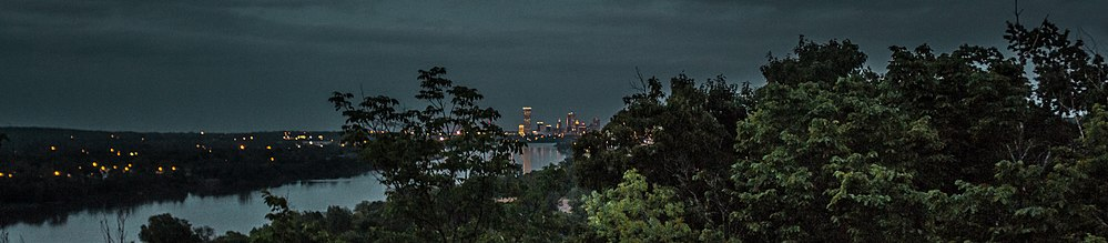 Downtown Tulsa At Night From Chandler Park.jpg