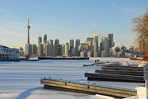 Greater Toronto Area - Toronto is the largest municipality in the GTA, acting as the area's core.