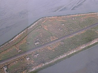 Drawbridge, California - Aerial image of Drawbridge