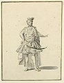 Drawing, Costume Design- Persian Prince, for a Stage Production Designed by Giuseppe Galli Bibiena, 1719 (CH 18401029).jpg