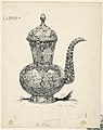Drawing, Ewer of Solid Silver made at Ispahan, 1886 (CH 18383381).jpg