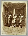 Drawing, Sketchbook Page- Flagellation of Christ, 1810–15 (CH 18109429).jpg
