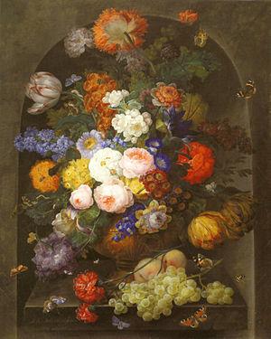 Johann Baptist Drechsler - Image: Drechsler Großes Blumenstück