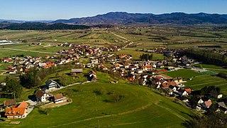 Drenov Grič Place in Inner Carniola, Slovenia