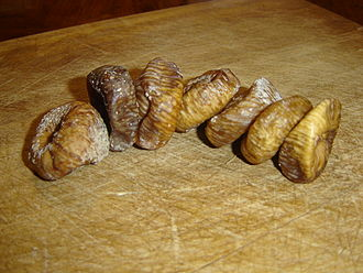 Common fig - Dried figs