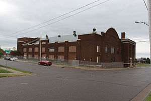 Duluth Armory - Exterior of the Drill Hall