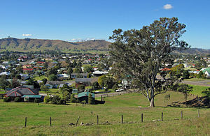 Dungog, New South Wales - View of Dungog from Hospital Road