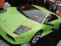 E3 2011 - green Lamborghini (NOS energy drink booth) (5831102230).jpg