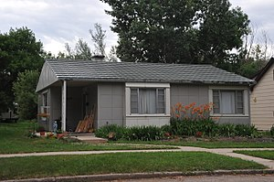National Register of Historic Places listings in Spink County, South Dakota - Image: EDBERT AND JOSIE OPITZ HOUSE, SPINK COUNTY, SD