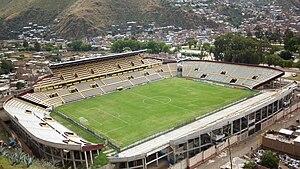 Estadio Heraclio Tapia - Image: ESTADIO HERACLIO TAPIA LEON HUANUCO