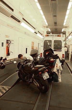 Eurotunnel Shuttle - Interior