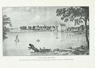 Moline Downtown Commercial Historic District - Moline c. 1840
