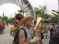Easter Sunday in New Orleans - Brass Band Jam by Armstrong Arch 12.jpg