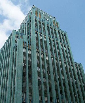 Arts and culture of Los Angeles - The Eastern Columbia Building is a well known Art Deco building in Downtown Los Angeles