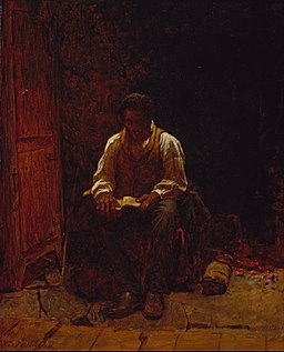Eastman Johnson - The Lord Is My Shepherd - Google Art Project