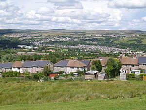 Ebbw Vale - Image: Ebbw Vale panorama