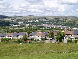 Ebbw Vale Human settlement in Wales