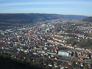 Albstadt - A view of Ebingen.