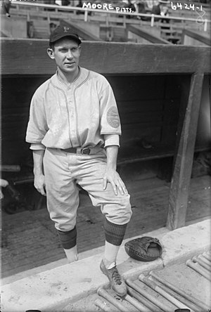 Eddie Moore (baseball) - Eddie Moore with the Pittsburgh Pirates in 1925.