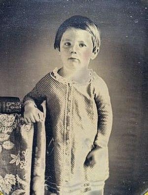 Edward Baker Lincoln - Eddie Lincoln, age 3