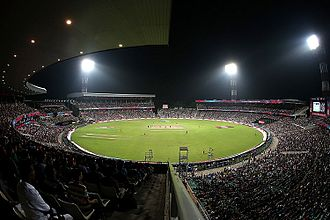 Sport in India - Eden Gardens in Kolkata established in 1864, is the oldest and largest cricket stadium in India, and has hosted 82 international matches.