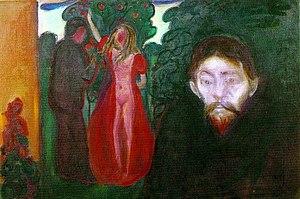 Jealousy (painting) - Image: Edvard Munch Jealousy (1895)