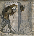 Edward Burne-Jones - Tile Design - Theseus and the Minotaur in the Labyrinth - Google Art Project.jpg