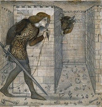 Labyrinth - Theseus in the Minotaur's labyrinth