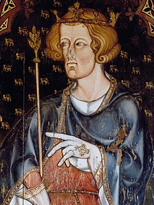 Edward I - Westminster Abbey Sedilia.jpg