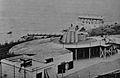 Edward VII Battery at Windmill Hill, circa 1904 with a 9.2 inch breech-loader.jpg