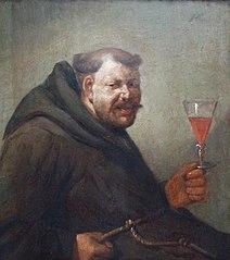 Drinking monk