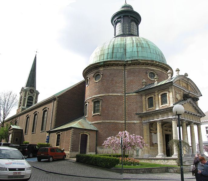 Eglise de Waterloo et la Rotonde