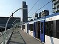 Eindpunt metro Rotterdam in Den Haag CS 2021.jpg