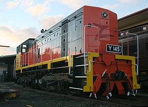 El Zorro (railway) - Y145 in El Zorro livery in June 2008