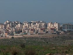 מראה היישוב מכיוון דרום, 2006