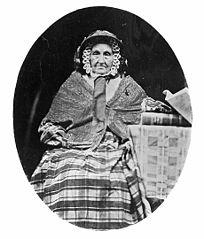 Eleanor Davies, mother of John Davies, Nercwys