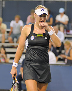 Baltacha en el US Open 2010.