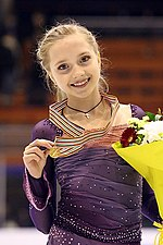 Elena Radionova at the Junior World Championships 2013 - Awarding ceremony.jpg