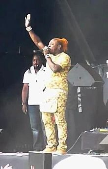 alt=Description de l'image Elephant Man Live.JPG.