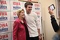 Elizabeth Warren with supporter (49406255918).jpg