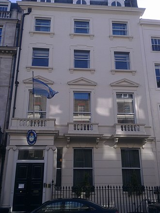 Embassy of Argentina, London - Image: Embassy of Argentina in London 1