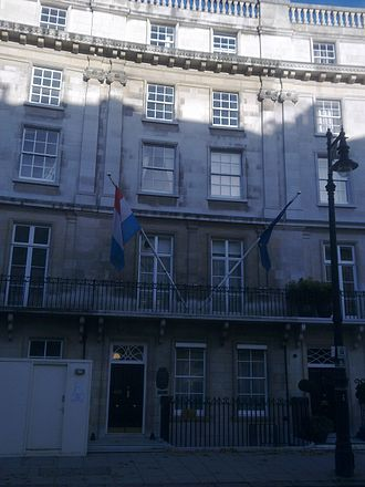 Embassy of Luxembourg, London - Image: Embassy of Luxembourg, London 1