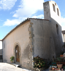 The church in Embres-et-Castelmaure
